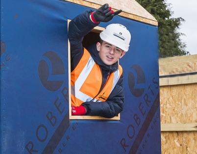 North Lanarkshire pupils become housebui...