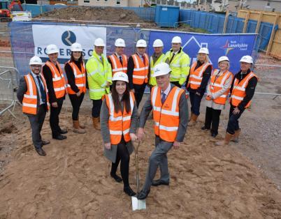 Two sites in North Lanarkshire underway ...