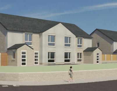 Community drop-in: Cumbernauld housing