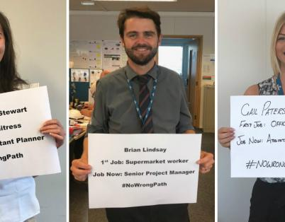 #NoWrongPath as students receive exam re...