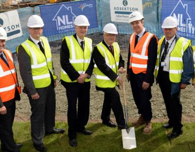 Building begins on new council homes in ...