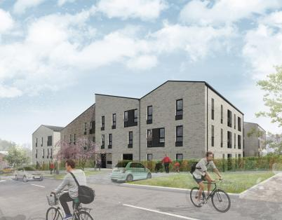 Plans submitted for Edinburgh affordabl...