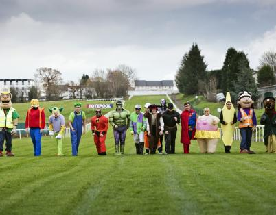 Hamilton Park Racecourse hosts charity f...