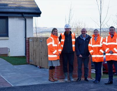 £5.4m affordable homes project complete...
