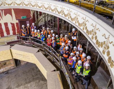 Pupils get an inside look at Perth Theat...