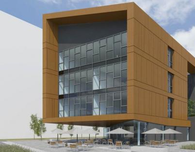 First building for Glasgow's new busin...