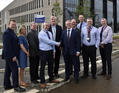 Construction handover on £32.5m new sec...