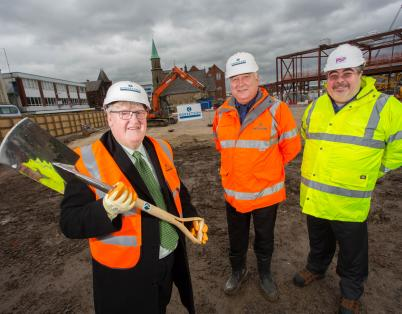 Ground broken on Bolton office scheme