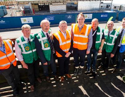 Topping out for Royal Highland Centre's ...