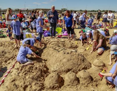 Sandcastle Challenge 2018