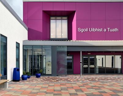 Celebrating the opening of North Uist Sc...