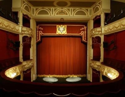 Perth Theatre auditorium progress
