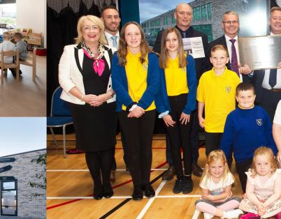 £15 million Tullibody School Campus ope...