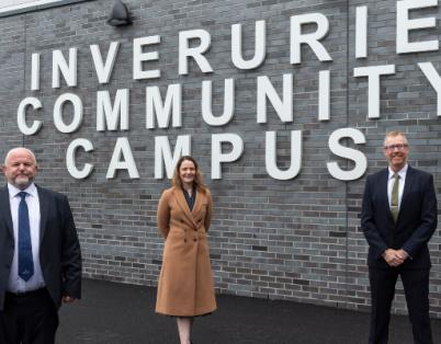 Inverurie Community Campus welcomes firs...