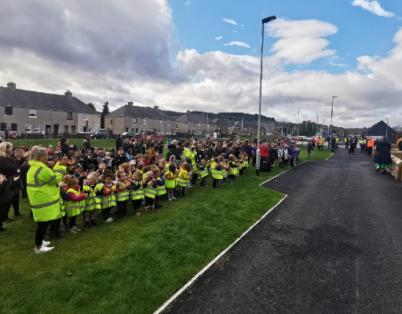 Pupils at Merkinch Primary School in Inv...