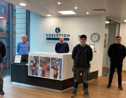 Robertson Construction North East welcom...