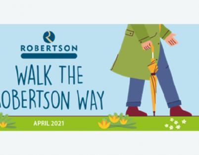 We walked the Robertson Way