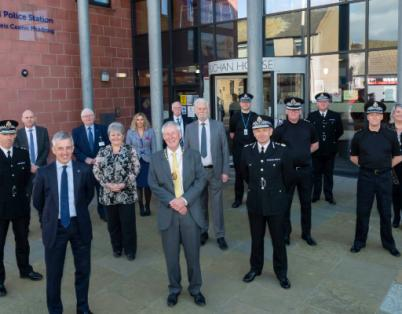 Peterhead Police Station formally opened...