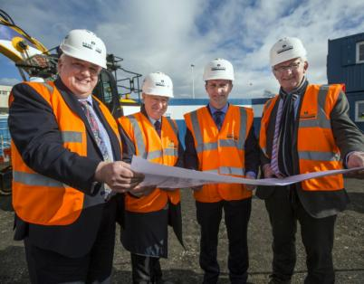 Construction begins on Scotland's firs...