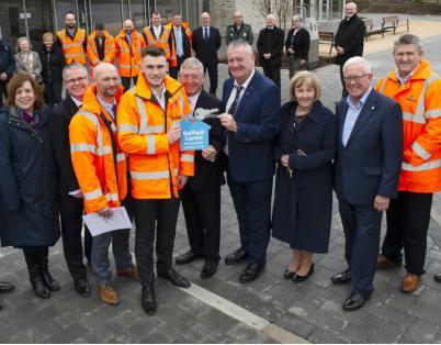 Keys handed over in Stirling Health & Ca...