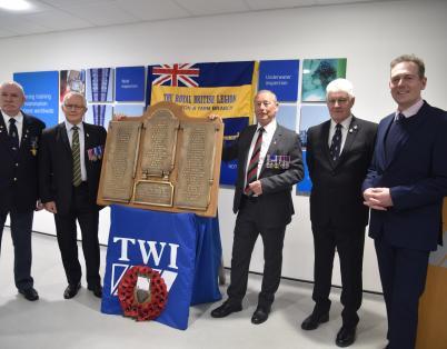 Commemoration of fallen Middlesbrough Ir...