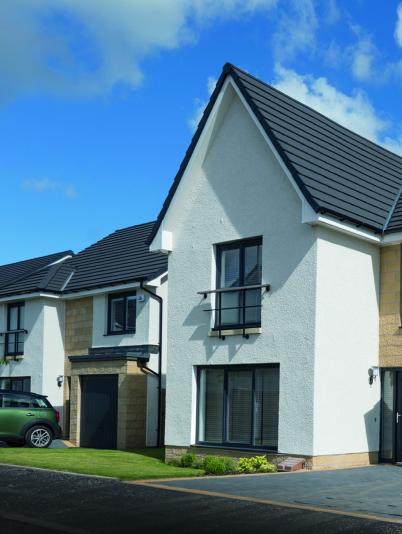 Timber-frame homes, Newton Mearns