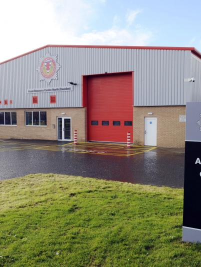 Scottish Fire and Rescue Service facility, Dundee