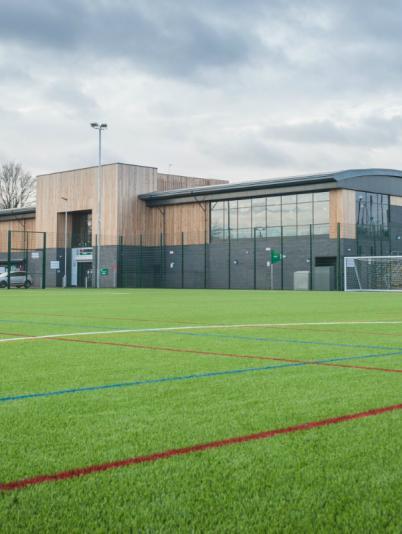 Isobel Bowler Sports Ground pavilion