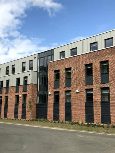 Houghall Court student accommodation