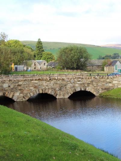 Glenlivet access road and bridge