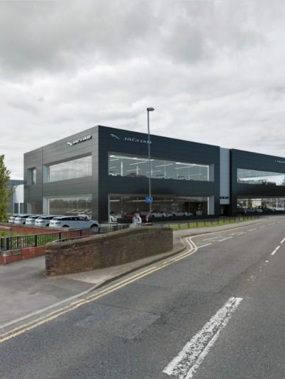 Jaguar Land Rover showroom, Chester