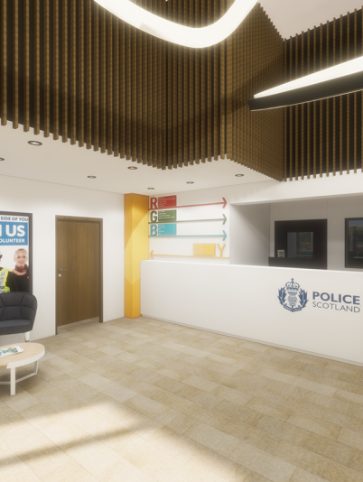 London Road Police Station refurbishment