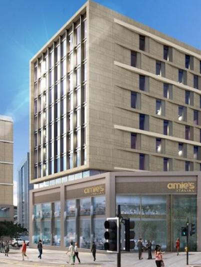 Moxy Hotel, SEC Glasgow