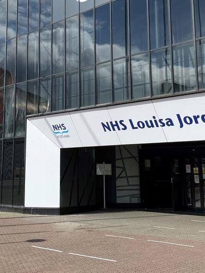 NHS Louisa Jordan decommissioning
