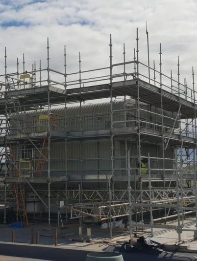 Tay Road Bridge Control Tower refurbishment