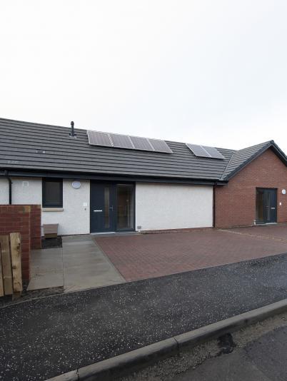 Banklands affordable housing, Newburgh
