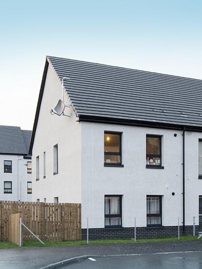 Fair Acres affordable housing, Dunbar