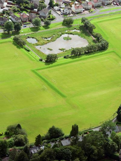 Colquhoun Park flood alleviation scheme