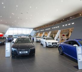 Retail and car dealership